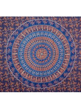 Hippie Mandala Tapestries Folk Art Decor Clothing