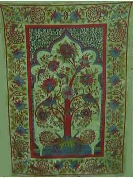 Tree of Life Wall Hanging Tapestry Bedspread Ethnic Throw