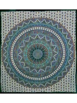 Hippie Tapestries Mandala Tapestry Bed Cover Wall Art Throw