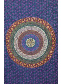 Mandala Tapestries Psychedelic Throw Bedspread Wall Hanging